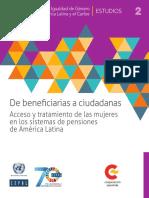 CEPAL-De Beneficiarias a Ciudadanas