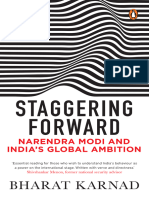 Staggering Forward Narendra Modi and India s Global Ambition