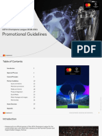 UCL Promotion Guidelines