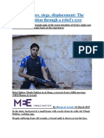Protest, torture, siege, displacement The Syrian revolution through a rebel's eyes.docx