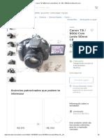 Canon T3i _ 600d Com Lente 50mm 1.8 - R$ 1.449,00 em Mercado Livre.pdf