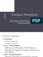 IntroTransport Phenomena.