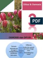 Bab 3. Osmosis & Difusi