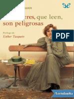 Las mujeres que leen son peligrosas - Stefan Bollmann.pdf