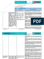 Competencias, Capacidades, Desempeños y Estándares de Aprendizaje de Comunicación_4º CN