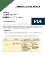 DIAGNOSTICA DE MÚSICA