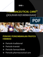 Pharmaceutical Care 1
