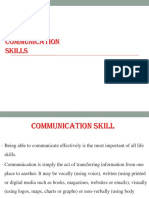 Barriers to Communication Skill