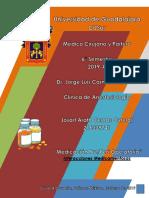 Medicacion Pre Peri Operatoria - Anestesiologia