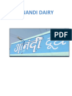 Anandi Dairy Changes