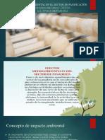 Impactó Ambiental en El Sector de Panificación