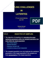 02-1 Sampling Challenges in Laterite_Waheed Ahmad