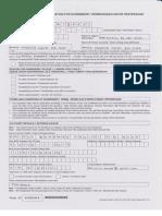 Application of Surrender PRUBSN