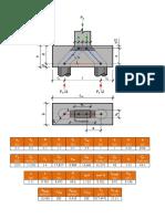Dimensionamento de Bloco Sobre Duas Estacas Por Bielas e Tirantes5981