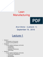 Lecture 1-Lean Manufacturing