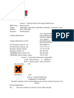 MSDS Benzyl Alcohol
