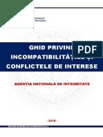 Ghid Incompatibilitatile & Conflicte Aprilie 2018