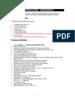 AOK-5055 Renkforce Weather Station user manual