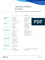 Liferay DXP 7.1 Compatibility Matrix