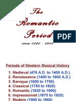 4 Romantic Period