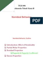 3. Nonideal Behavior