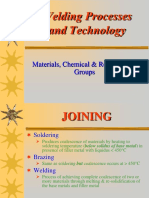 Welding Process & Technology