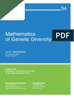 1 TX Kingman 1980 Mathematics of Genetic Diversity.pdf