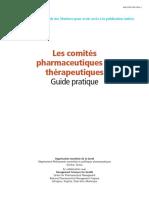 Les comités pharmaceutiques et thérapeutiques.pdf
