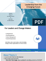 Leadership From the Emerging Future - Workshop