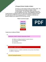 Autism Program Website Checklist Directions & Rubric.odt