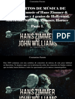 Constantino Parente - Conciertos de Música de Cine, The Music of Hans Zimmer & John Williams y 4 Genios de Hollywood, Morricone, Silvestri, Zimmer, Horner, Parte I