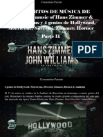 Constantino Parente - Conciertos de Música de Cine, The Music of Hans Zimmer & John Williams y 4 Genios de Hollywood, Morricone, Silvestri, Zimmer, Horner, Parte II