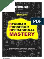 eBook SPO Rumah Sakit Mastery - Panduan Perencanaan, Penyusunan, Pembuatan Dan Evaluasi SPO Rumah Sakit