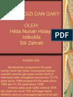 ANEMIA GIZI II