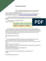 Anuitas dan Angsuran Matematika Keuangan.docx