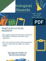 Group i - Biological Hazards