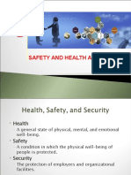 CH 8 SAFETY, HEALTH & SECURITY AT  WORKPLACE.ppt