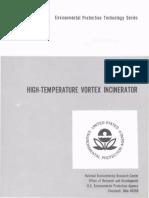 High Temperature Vortex Incinerator