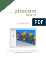 Novedades AlphaCAM 2014 R2