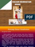 Konsep Dasar Kesehatan Anak