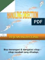 handling objection