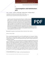 Pornography Consumption and Satisfaction:A Meta-Analysis by Paul J.Wright et al