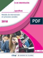 Guia de Orientacion Modulo de Intervencion en Procesos Sociales Saber Pro-2018