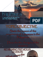 Causes of Seasons in the Philippines