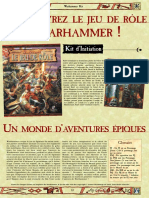 Warhammer JdR 2ed - Kit d'initiation