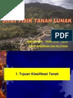 MODUL 3. SIFAT FISIK TANAH LUNAK, 40 hal.ppt