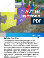Autism Disorder and Aspergers Syndrome-escusa