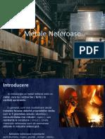 Metale Neferoase