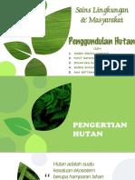 Saling Temas Penggundulan Hutan Fiks
