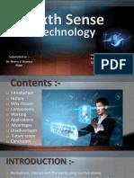 Sixth Sense Technology By Mr. A.pptx